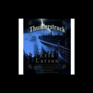 Thunderstruck audiobook cover art