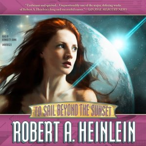 To Sail Beyond the Sunset audiobook cover art
