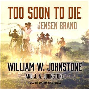 Too Soon to Die audiobook cover art