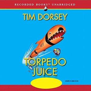 Torpedo Juice audiobook cover art