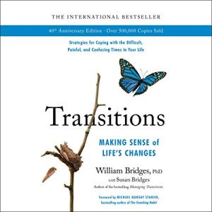 Transitions audiobook cover art