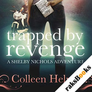 Trapped by Revenge audiobook cover art
