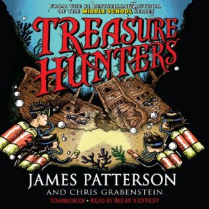 Treasure Hunters audiobook cover art