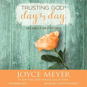 Trusting God Day by Day audiobook cover art