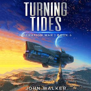 Turning Tides audiobook cover art