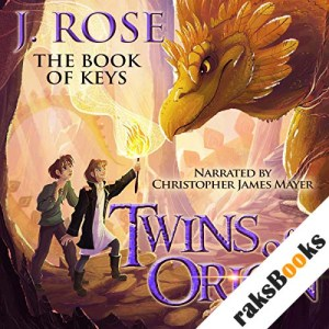 Twins of Orion: The Book of Keys audiobook cover art