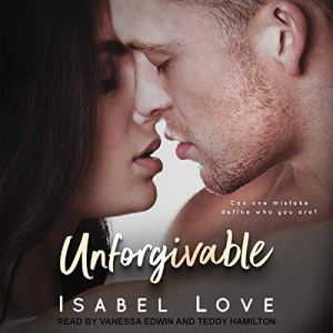 Unforgivable audiobook cover art