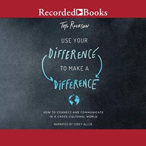 Use Your Difference to Make a Difference audiobook cover art