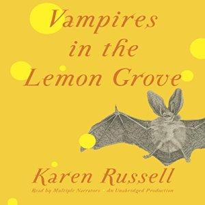Vampires in the Lemon Grove audiobook cover art
