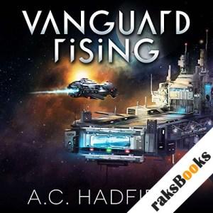 Vanguard Rising audiobook cover art