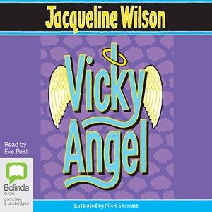 Vicky Angel audiobook cover art