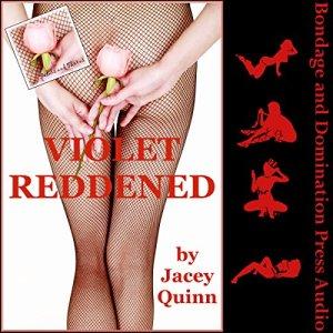 Violet Reddened audiobook cover art