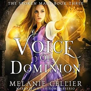 Voice of Dominion audiobook cover art