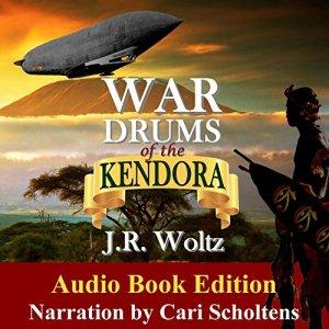 War Drums of the Kendora audiobook cover art