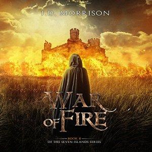 War of Fire audiobook cover art