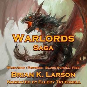 Warlords Saga audiobook cover art