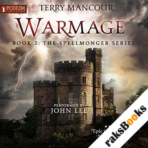 Warmage audiobook cover art
