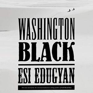 Washington Black audiobook cover art