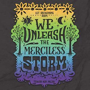 We Unleash the Merciless Storm audiobook cover art