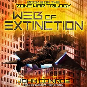 Web of Extinction audiobook cover art