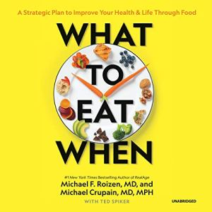 What to Eat When audiobook cover art