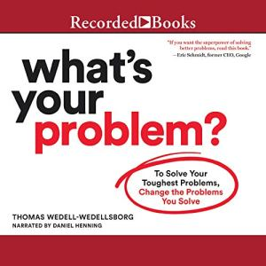 What's Your Problem audiobook cover art