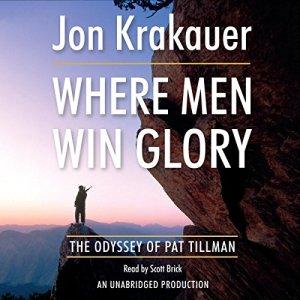 Where Men Win Glory audiobook cover art