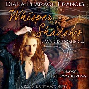 Whisper of Shadows audiobook cover art