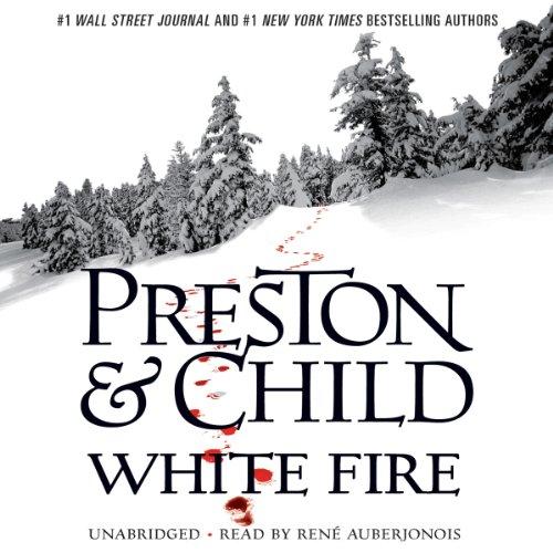 White Fire audiobook cover art