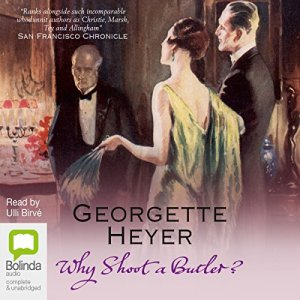 Why Shoot a Butler? audiobook cover art