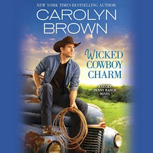 Wicked Cowboy Charm audiobook cover art
