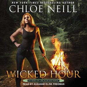 Wicked Hour audiobook cover art