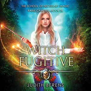 Witch Fugitive audiobook cover art