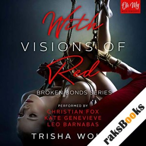 With Visions of Red audiobook cover art