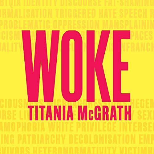 Woke audiobook cover art