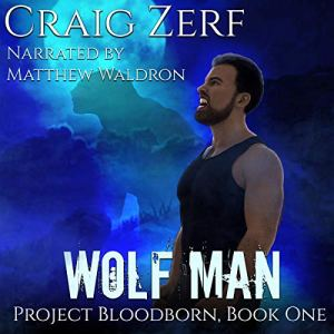Wolf Man audiobook cover art
