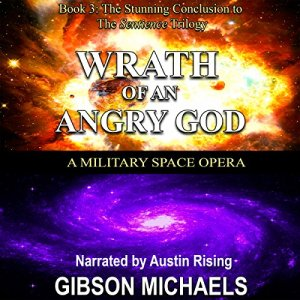 Wrath of an Angry God audiobook cover art