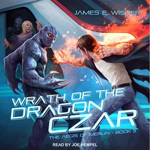 Wrath of the Dragon Czar audiobook cover art