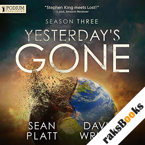 Yesterday's Gone: Season Three audiobook cover art