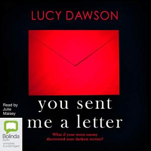 You Sent Me a Letter audiobook cover art