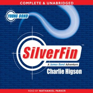 Young Bond: Silverfin audiobook cover art
