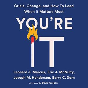 You're It audiobook cover art