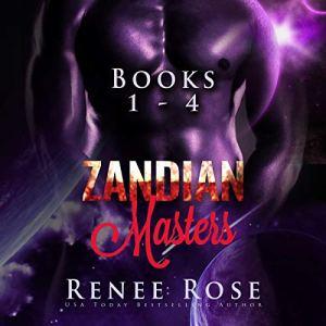 Zandian Masters, Books 1-4 audiobook cover art