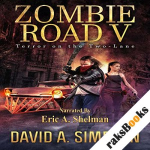 Zombie Road V audiobook cover art