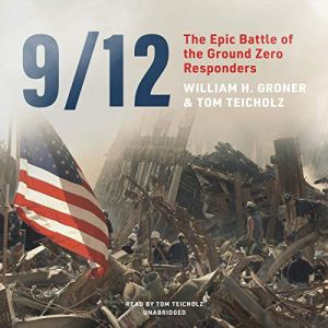 9/12 Audiobook By William H. Groner, Tom Teicholz cover art