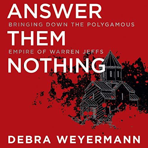 Answer Them Nothing Audiobook By Debra Weyermann cover art