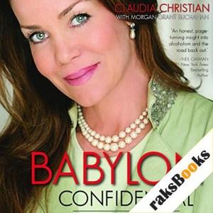 Babylon Confidential Audiobook By Claudia Christian, Morgan Grant Buchanan cover art