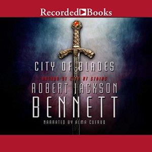 City of Blades Audiobook By Robert Jackson Bennett cover art