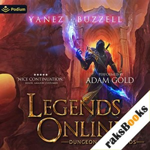 Dungeon of the Gods Audiobook By Jonathan Yanez, Ross Buzzell cover art
