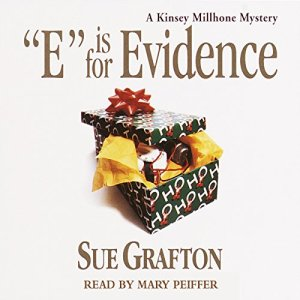 E is for Evidence Audiobook By Sue Grafton cover art